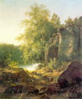 Вид на острове Валааме. Этюд. 1858