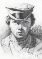 Автопортрет. 1854