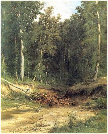 Лесной ручей/