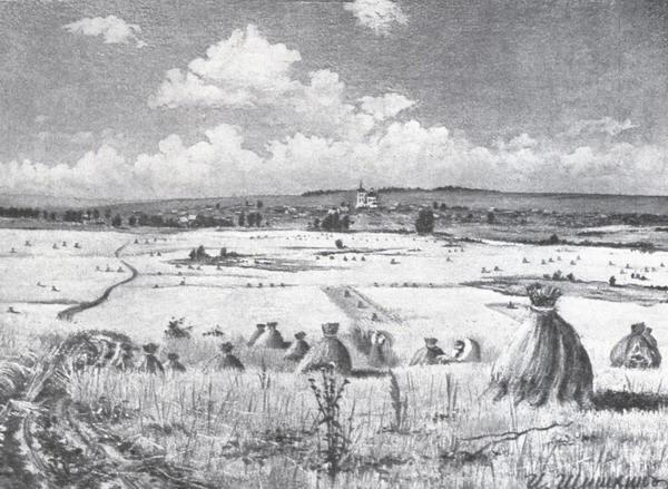 Жатва. 1850-е