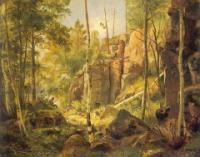 Вид на острове Валаам (Местность Кукко).1859(60?)